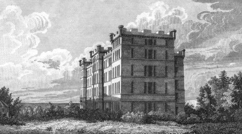 Illustration of the prison taken from Historical Account and Delineation of Aberdeen by Wilson
